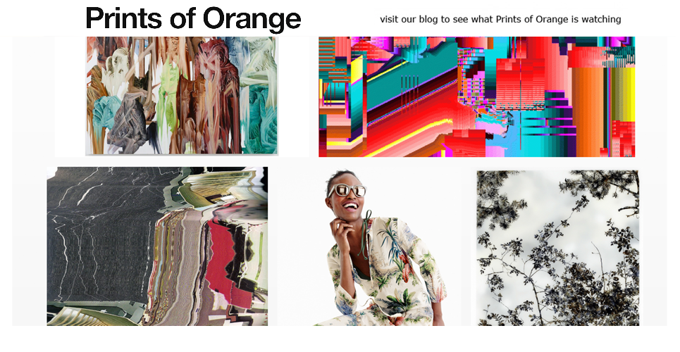 Visit our blog to see what Prints of Orange is watching.
